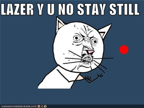 LAZER Y U NO STAY STILL