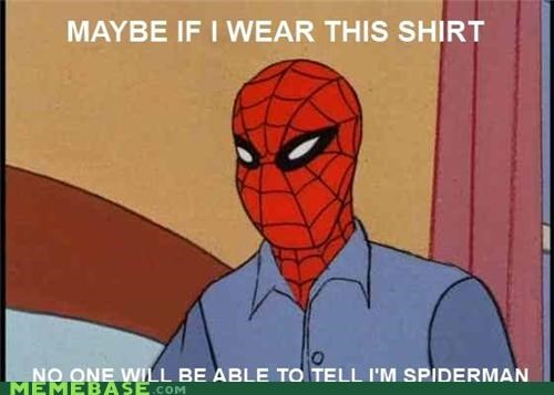disguise shirt Spider-Man Super-Lols - 4994190592