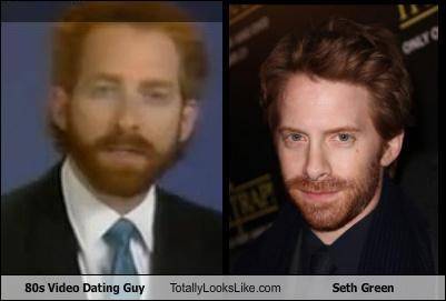 Awkward,beard,gingers,seth green,tiny eyes,video dating