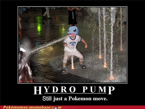 blastoise haters hydro pump IRL squirtle - 4994196224
