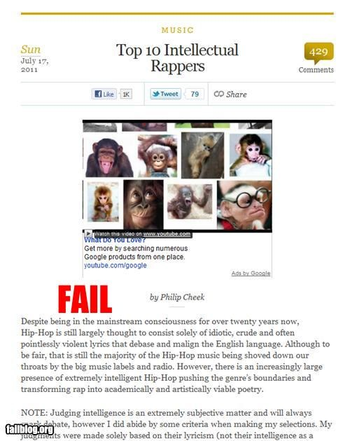 ads failboat g rated internet monkey racism rap - 4994668032