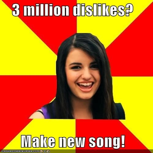 friday song,My Moment,Rebecca Black,troll