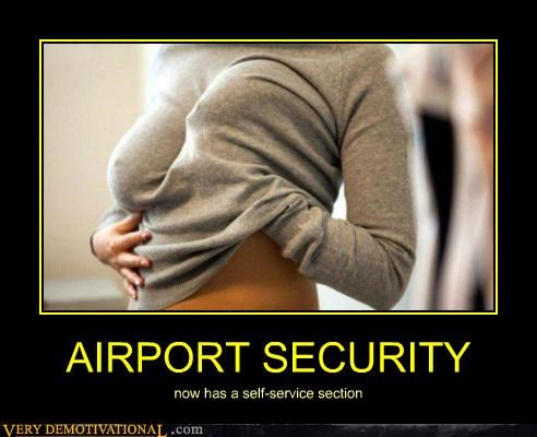 airport security hilarious lady bags self touch TSA wtf - 4994772480