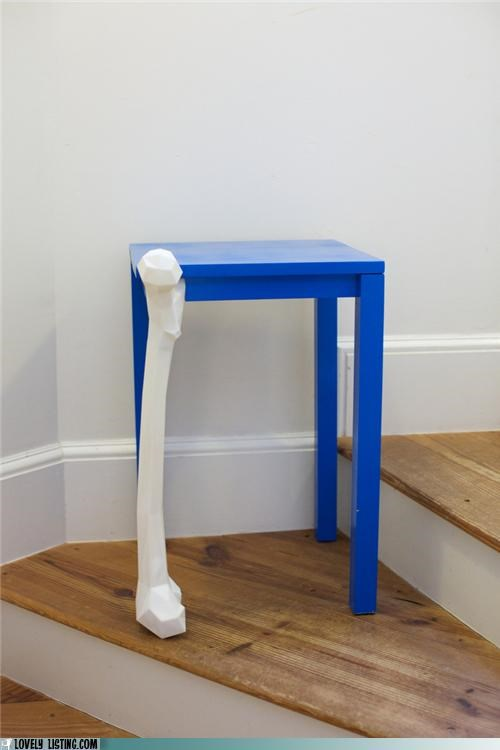 bone leg table - 4994784256