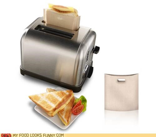 bag grill protection sack sandwich toaster - 4994814464
