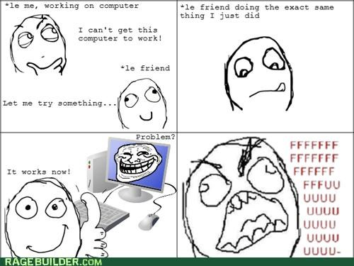 computers FAIL fu guy problem Rage Comics troll - 4994826752