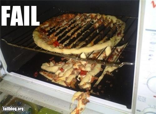 Baking Pizza FAIL