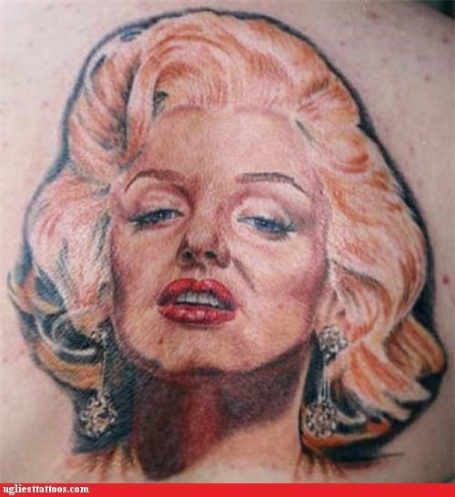 celeb I see dead people marilyn monroe pop culture portraits