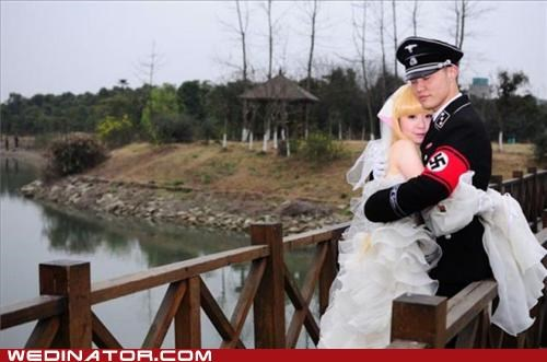 anime funny wedding photos nazi - 4995076608