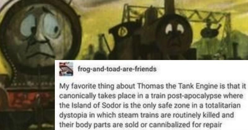 thomas the tank engine tumblr