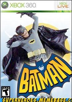 Adam West batman Random Heroics silly video games - 4995122688
