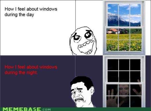 day,house,Memes,night,outside,scary,windows