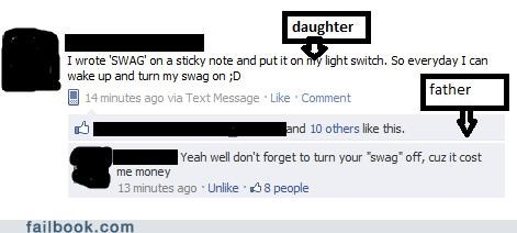oh snap,parents,swag