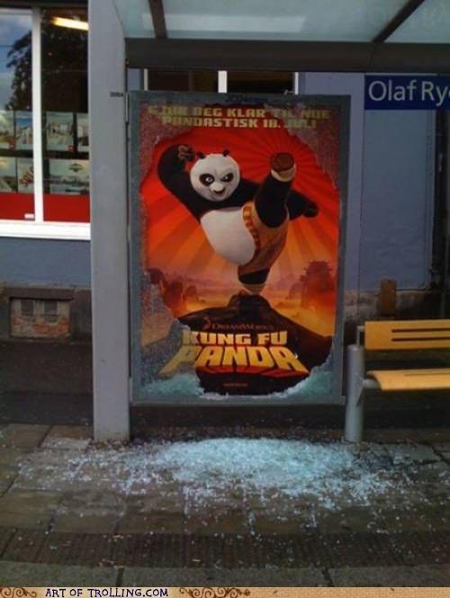 glass IRL Kung Fu Panda poster - 4995461632