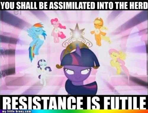 assimilate Bronies group herd twilight sparkle - 4995771392