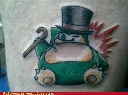 IRL sir snorlax tattoo - 4996075008