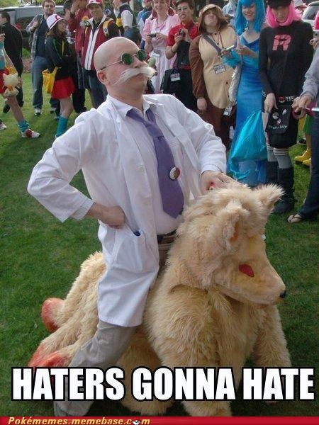 cosplay,haters gonna hate,ninetails,professor,Rule 34