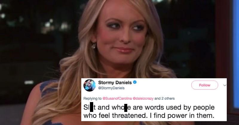 Stormy Daniels funny witty comebacks