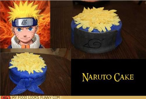 anime,cake,hair,head,headband,naruto