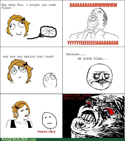 internet irl me gusta Memes poker face Rage Comics - 4997914368