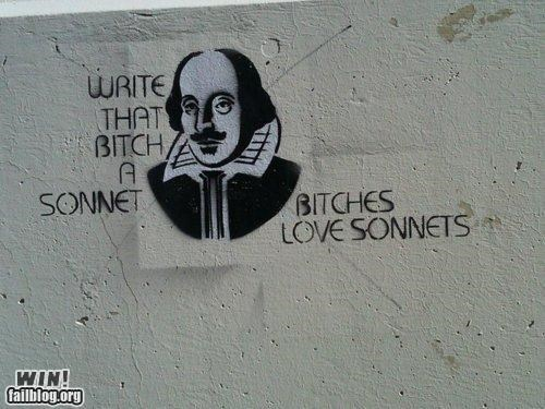 hacked irl,shakespeare,sonnet