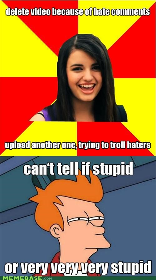 fry,Rebecca Black,remix,stupid,trolling,what
