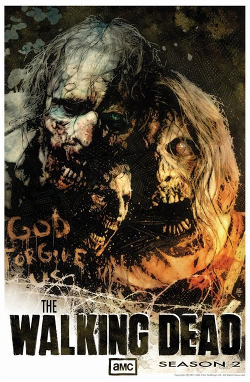 comic con poster tv shows The Walking Dead zombie - 4998267136