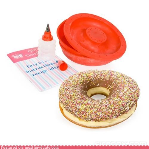 cooking,DIY,donut,epicute,giant,huge,mold
