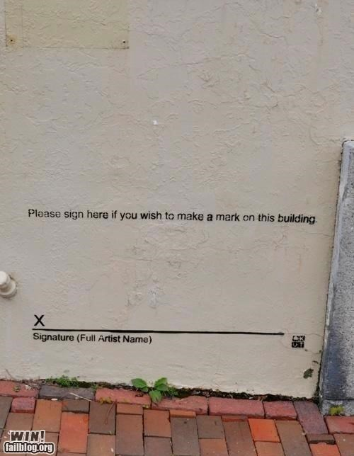 clever graffiti hacked irl - 4998334464