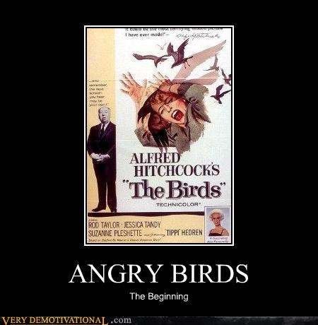 angry birds,birds,hilarious,hitchcock,Movie,video games
