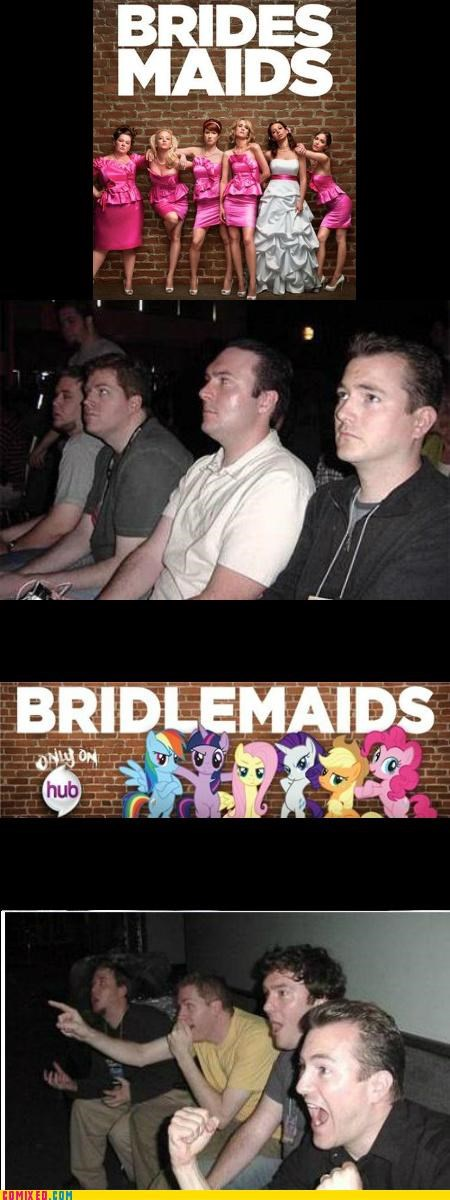 bridesmaids bridlemaids hub reaction guys - 4998511104