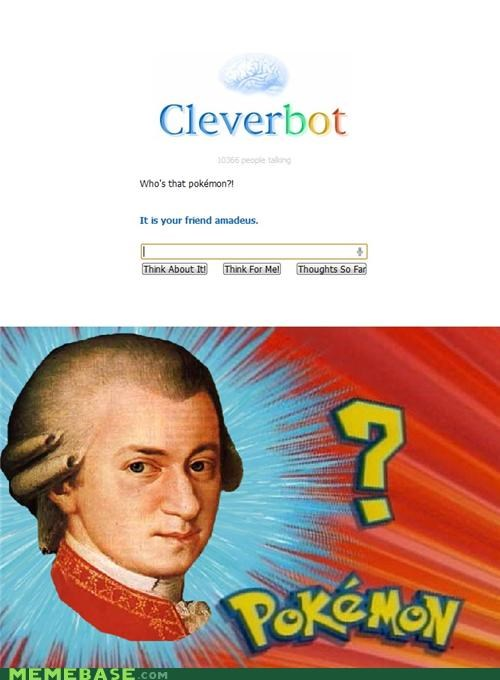 amadeus Cleverbot mozart whos-that-pokemon