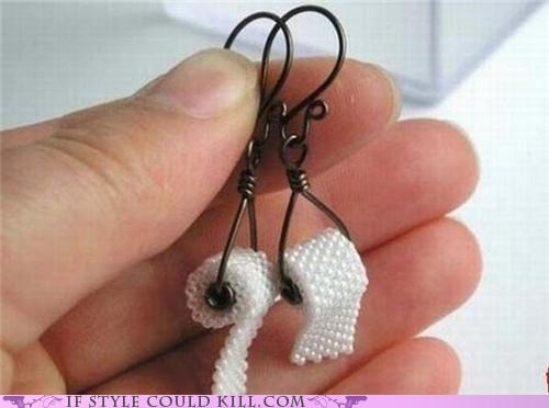 beads cool accessories earrings toilet paper - 4999255296