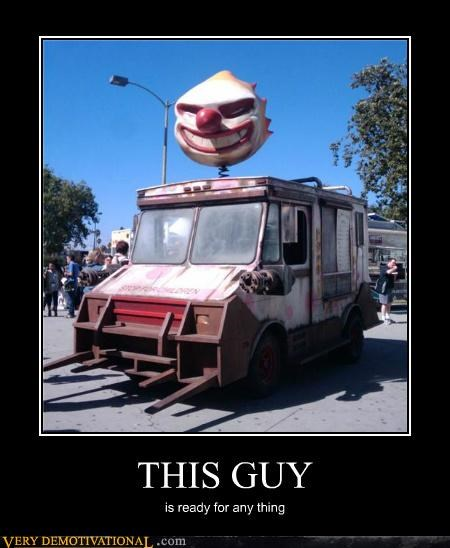 ice cream truck scary Terrifying this guy video games