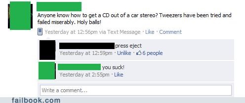 How to Eject a CD