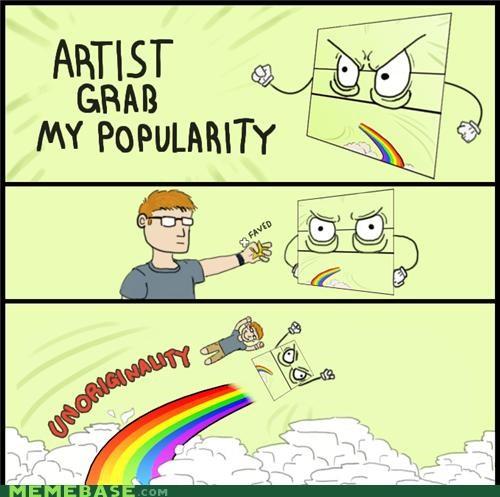 adventure,artist,deviantart,fave,meta,originality,popularity,share