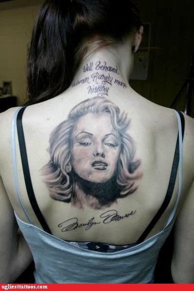 celeb I see dead people marilyn monroe names pop culture portraits quotes words - 4999953920