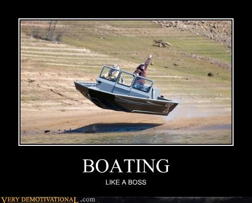 boating Like a Boss Pure Awesome