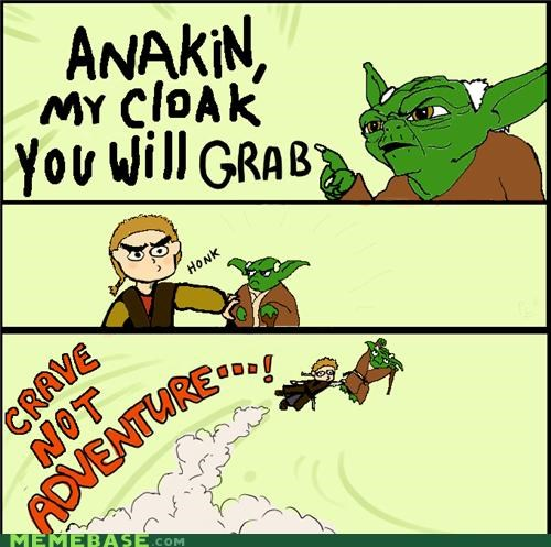 adventure,cloak,excitement,Jedi,star wars,yoda