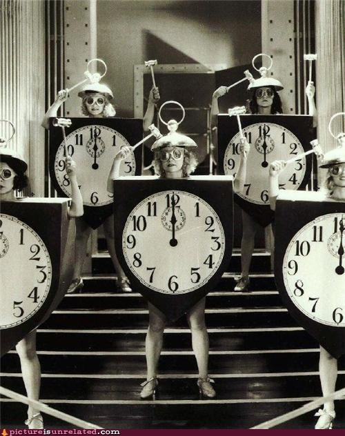 clock,costume,ladies,wtf
