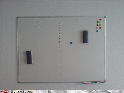 pong video games whiteboard - 5000508928