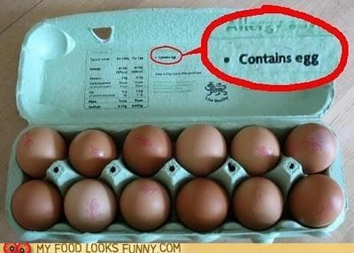 contains egg eggs ingredients shocker