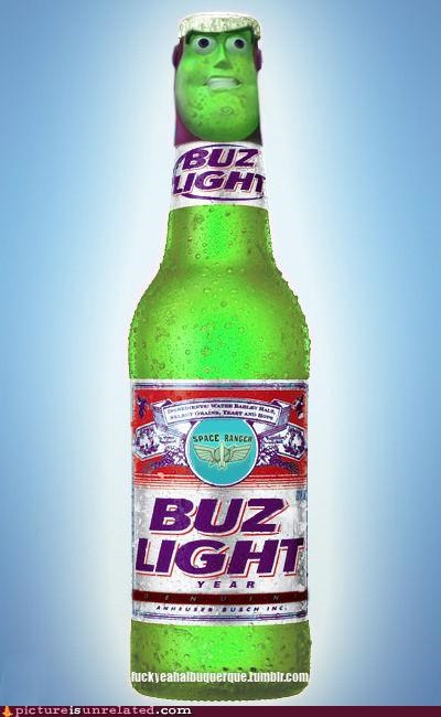 beer bud light buzz lightyear wtf - 5001407488