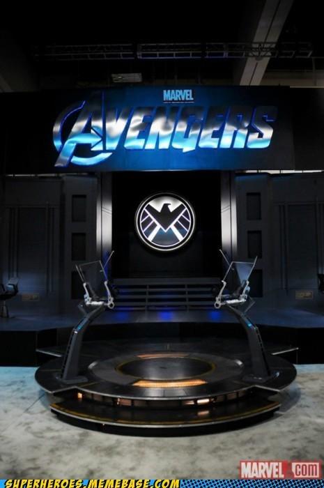 avengers heli-carrier marvel Random Heroics - 5001570560