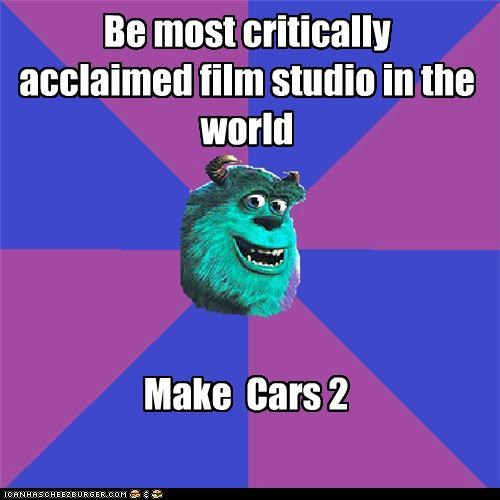 cars 2,monsters inc,pixar,stupid,troll face,world
