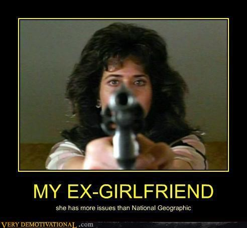 dating ex girlfriend gun hilarious issues Movie scary - 5001799168