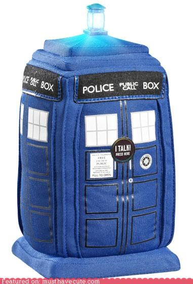 doctor who light Plush stuffed tardis - 5002065152