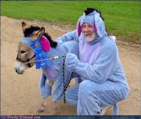 costume donkey eeyore furry - 5002120192