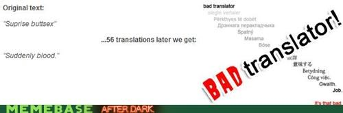 Bad Translator Blood suddenly surprise buttsecks - 5002246656