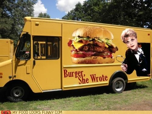 burger,food truck,jessical fletcher,murder she wrote